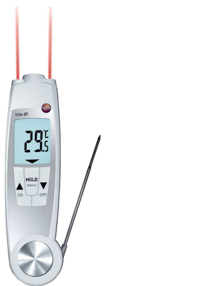 Testo 104-IR - Infrared/Penetration Food Thermometer (waterproof)